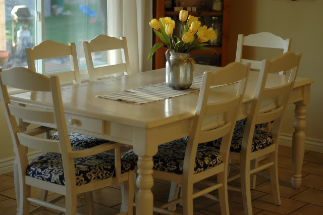 How I Refinished My Dining Set It S Just A Project